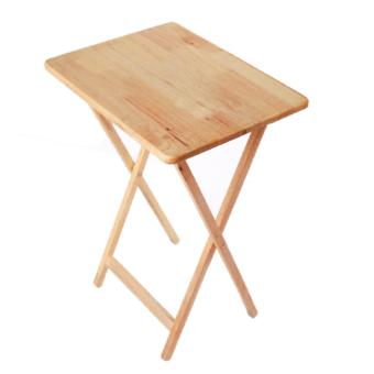 weext WOODEN FOLDING TABLE NATURAL