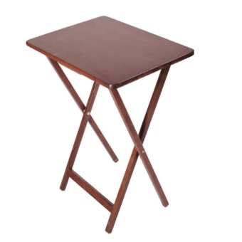 weext WOODEN FOLDING TABLE WALNUT