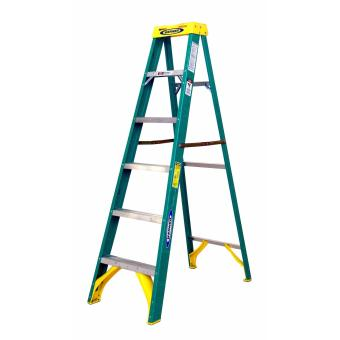 Werner 6ft. Fiberglass Step Ladder Type II #5906