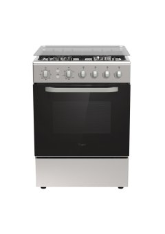 Whirlpool AGG 640 IX 60 cm Free Standing Range with 4 Gas Burners(Stainless Steel)