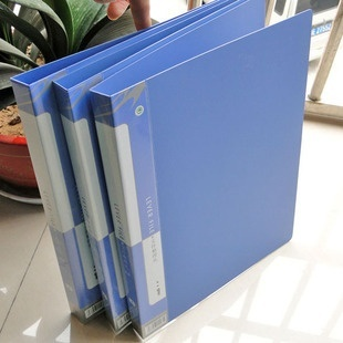 WI special offer selling office supplies new plastic materialthickening folder double clip multifunctional folder - intl