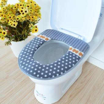 Winter Toilet Seat Cover Warmer Soft - intl