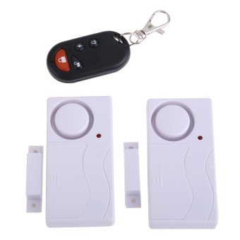 Wireless Remote Control Home House Door Window Security Burglar Alarms