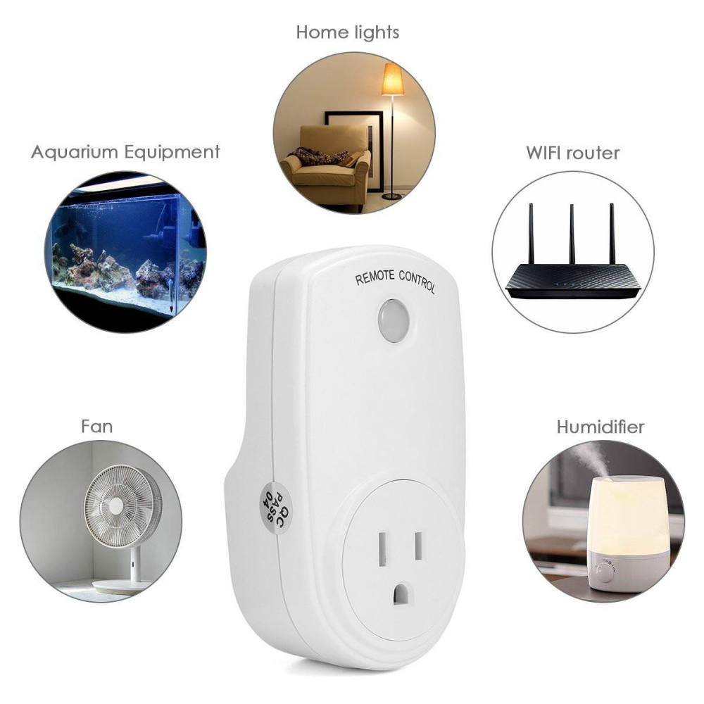 Philippines | Wireless RF Remote Control Electrical Outlet Switch ...