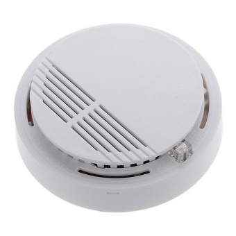 Wireless Smart Sensitive Smoke Detector Fire Alarm Sensor HomeSecurity System by Battery - intl