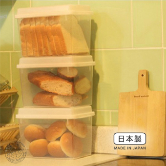 With lid bread storage box toast box freshness box