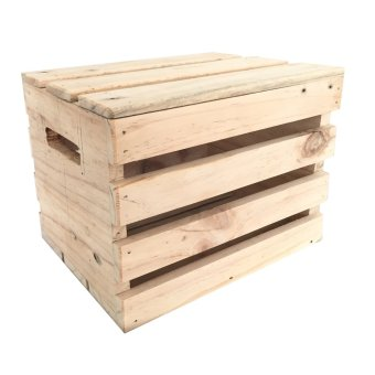 Wood Crates with Lid (Medium-Tall)