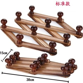 Wood door hanging wall hanging clothes rack hanger adhesive hook