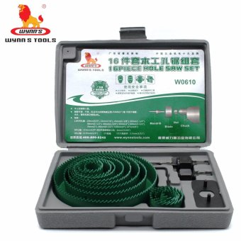 Wynn's 16 Pcs. Hole Saw KIt Set (19-127mm)