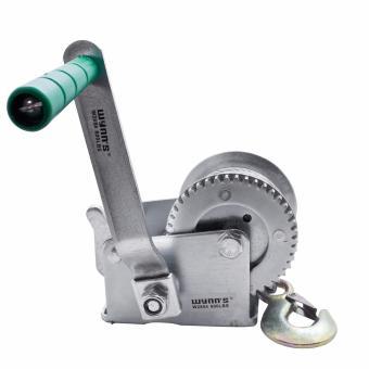 Wynn's W2854 600Lb (250kg) Hand Crank Winch (Silver) - 2