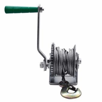 Wynn's W2854 600Lb (250kg) Hand Crank Winch (Silver) - 3