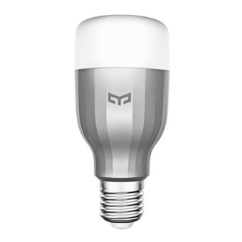 Xiaomi Yeelight 220V 9W E27 LED Wireless WIFI Control Smart ColorLight Bulb NEW - intl
