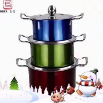 XZY-High Quality 3pcs set stainless Stock Pot Price Philippines