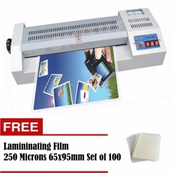 YATAI A3-A4 Laminator Heavy Duty Laminating Machine with FreeLaminating Film 250 Microns 65x95mm Set of 100