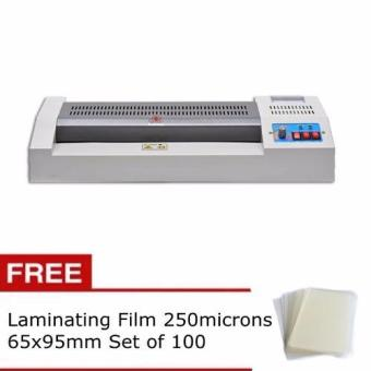 Yatai Laminator for A3, A4 with free Laminating Film 250microns65x95mm Set of 100 Price Philippines