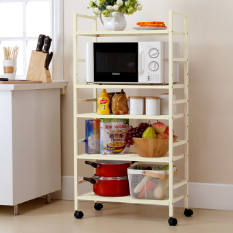 Yi Cai living room with wheels small trolley car kitchen shelf