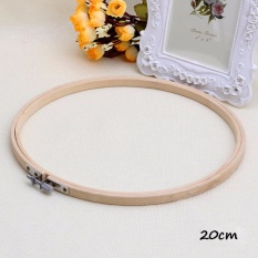 Catwalk Wooden Cross Stitch Machine Embroidery Hoop Ring Bamboo Sewing 20cm intlPHP420 PHP .