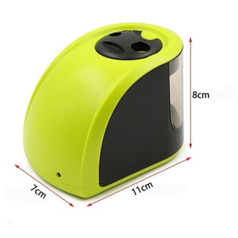 YOSUN Electric Pencil Sharpener, 2 Diameters Holes, Powered ByAdapters Or Battery, For Children, Students, Artists And Office -intl - 2