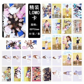 Youpop KPOP Twice MINI3 TT Album LOMO Cards K-POP New Fashion SelfMade Paper Photo