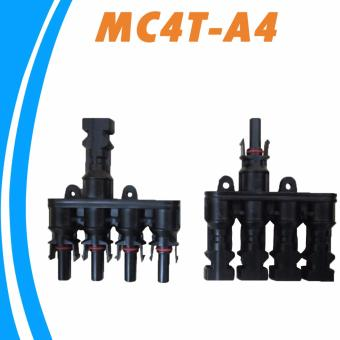 YSMART M/FM Solar Panel MC4 4 to 1 T Branch 30A Solar PanelConnector Cable Coupler Combiner MC4 Panel Cable Connectors - intl