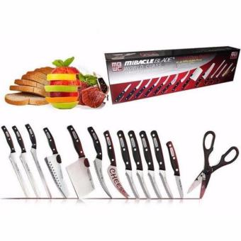 Zea Adjustable Double Pole Clothes Rack with Complete 13-Piece Knife Set - 5