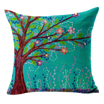 ZHAIZUBULUO Pillow Cover Tree 45CM*45CM 18'' x 18'' (Intl)