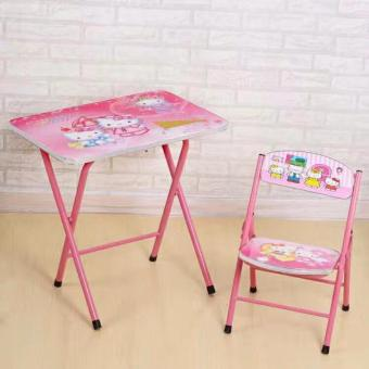 ZMB Kids Study Table and Chair Set
