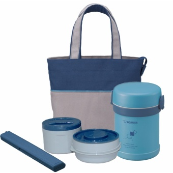 Zojirushi SL-ME07 (Lunch Jar Aqua Blue Color)