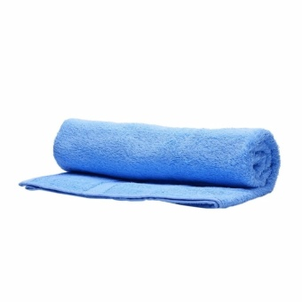 Zover 100% Cotton Bath Towels for Home/Family Travel Beach Bath Towels-Light Blue