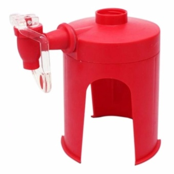 Zover Fizz Saver Dispensers Soda Coke Beverage Fountain System SoftDrink Machine Red