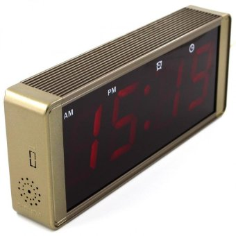 ZXSJ-05L LED Digital Clock (Metallic Bronze)