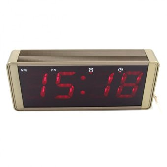 ZXSJ-05L LED Digital Clock (Metallic Bronze) - picture 2