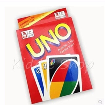 0129E UNO Card 108 English Fun Cards Game for Family