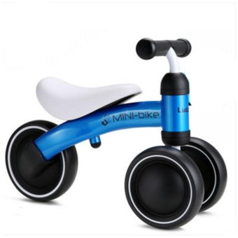 1-3years Baby Walker Infant Scooter No Foot Pedal Driving Bike Giftfor Infant three wheel - intl Price Philippines