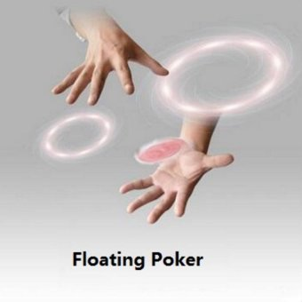 1 Pcs Hummingbird Cards Magic Tricks Floating Poker Cards Magic Props UFO Card Mentalism Close-up Stage Magic Toys - intl