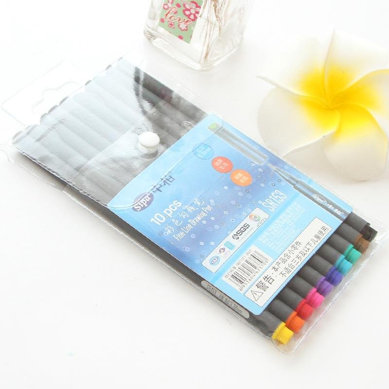 philippines 10 colors 0 38mm fine liner colored marker pens