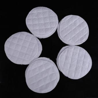 10 Pieces Soft Absorbent Cotton Washable Reusable Breastfeeding Nursing Pads