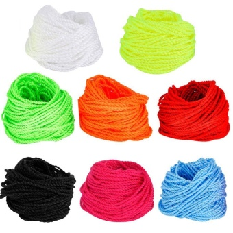 100 Pcs Durable Polyester String Multi Color Pro-poly Rope for Kids Children Yoyo Toy,Yellow - intl - 2