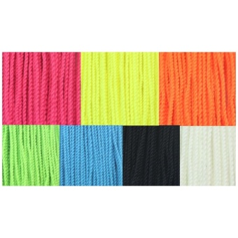 100 Pcs Durable Polyester String Multi Color Pro-poly Rope for Kids Children Yoyo Toy,Yellow - intl - 4