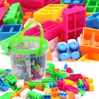 104pcs Children Block Toy Kid Puzzle Educational Building BlocksBricks Toy - Intl - 3