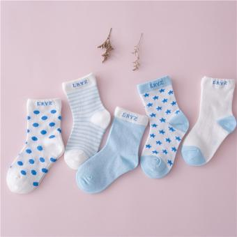 10Pairs Cotton Newborn Infant Kids Baby Boys Girls Short Socks -intl