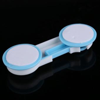 10pcs Set Door Drawers Wardrobe Todder Kids Baby Safety PlasticLock Blue - 3