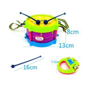 11PCS/Set Baby Intelligence Toys Rattles and Teether Jingle BallRing Baby Rattles Toys - intl - 5