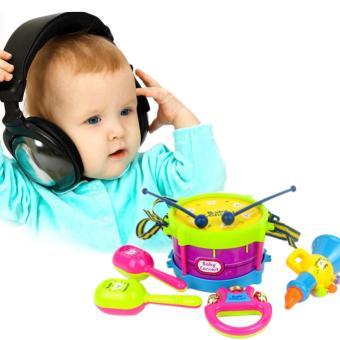 11PCS/Set Baby Intelligence Toys Rattles and Teether Jingle BallRing Baby Rattles Toys - intl - 2