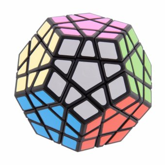 12-Face Rubiks Magic Speed Cube Puzzle