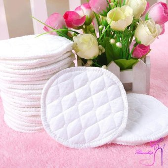 12 Pcs Reusable Breast Feeding Nursing Breast Pads Washable SoftAbsorbent - intl