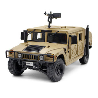 1/24 Hummer Desert Storm SUV Movable Alloy Diecast Car Model Toy -intl