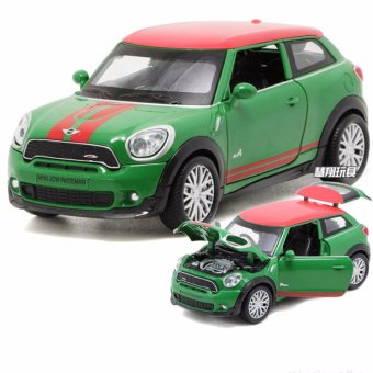 1:28 scale Diecast Metal BMW Mini Cooper Paceman Toy Car with Light & Sound - intl