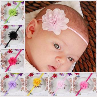 12pcs Hair Accessories Baby Girl Flower Kids Headband Toddler HairBand - intl