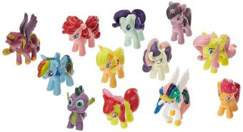 12PCS My Little Pony Cake Toppers Cupcake Toys Figurines Playset - intl